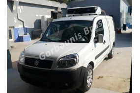 Fiat Doblo deep freeze