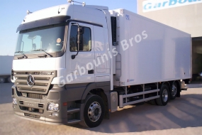 Mercedes Actros intended for fish transports