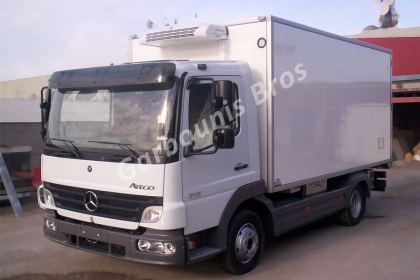 Mercedes Atego with independent freezer